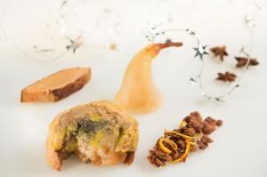 délice de chapon fermier au foie gras
