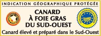 foie gras de canard IGP Sud Ouest