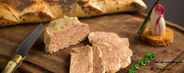 pâté de campagne au foie gras