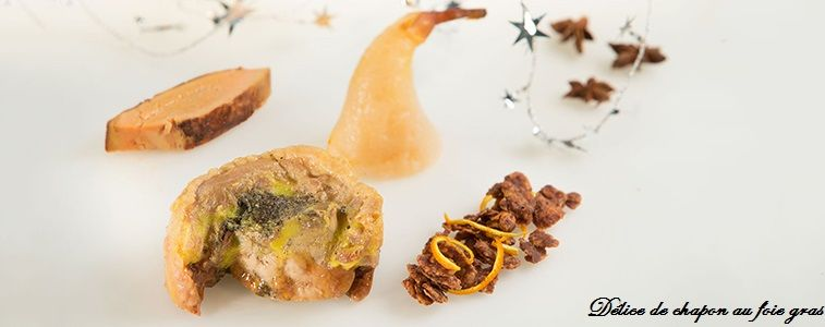 délice de chapon au foie gras